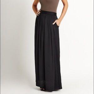 BcbgMaxAzria Sofia Maxi Skirt With Pockets
